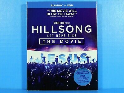 $5.99 • Buy Hillsong: Let Hope Rise The Movie (Blu-ray & DVD With Slipcover) NEW
