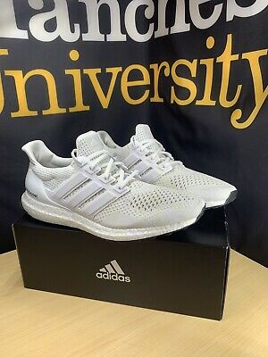 $210 • Buy Adidas Ultra Boost 1.0 Triple White Kanye West Size 10 - OG Deadstock