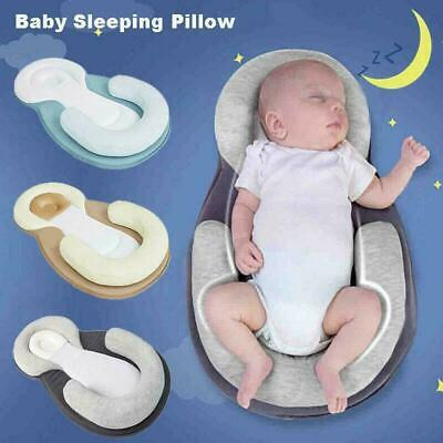 AU24.99 • Buy Infant Baby Newborn Pillow Cushion Prevent Flat Head Sleep Nest Pod Anti Roll