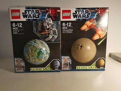 Lego Star Wars Planets 9678 9679 Bespin Endor Complete Boxed PreOwned • 25£
