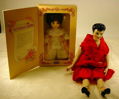 $ CDN27.07 • Buy Vintage Lot Of 2 Porcelain China Dolls Ideal & Unmarked