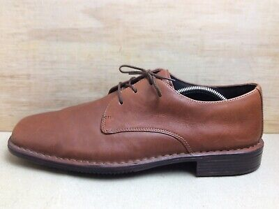 Rockport Mens Kinetic Air Circulator Brown Leather Laced Shoes UK 9 EU 43 US 10W • 15.95£