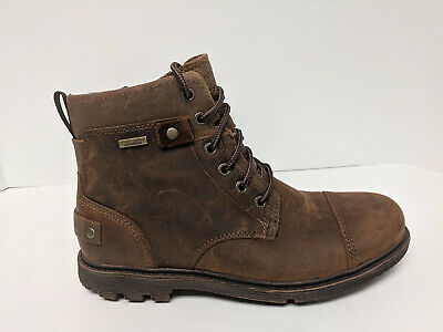 Rockport Rugged Buck II Ankle Boots, Tan Leather, Mens 7 M • 55.65£