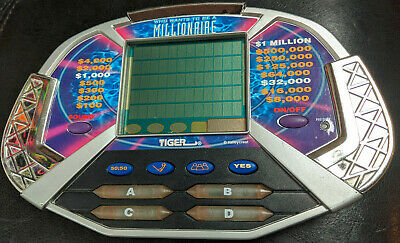 £5.64 • Buy Who Wants To Be A Millionaire Handheld Electronic Game Tiger 2000 Tested Working