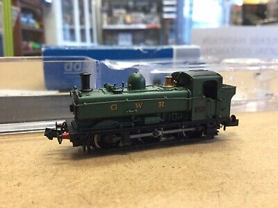Dapol N Gauge 0-6-0 Pannier Locomotive 8762 GWR Green Boxed 2S-007-003 Tested • 64.22£