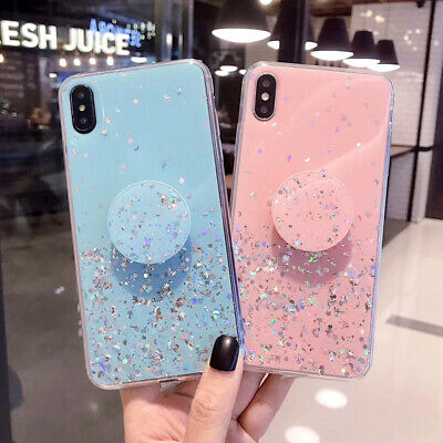 Luxury Bling Glitter Case For Huawei P40 Pro Honor 10Lite 20 Pro Y5 Y6 2019 Y6S • 3.81£