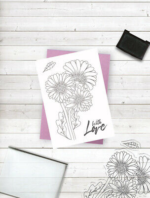 £4.99 • Buy Crafter's Companion A6 Papercraft Photopolymer Crafting Stamp - Fresh Florals