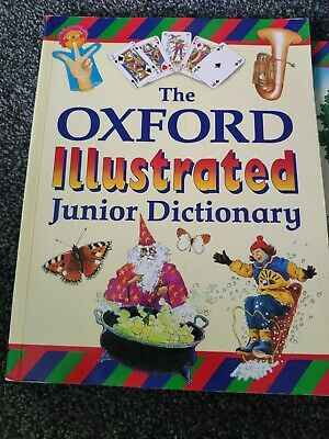 The Oxford Illustrated Junior Dictionary And Oxford Reading Tree Dictionary • 4£
