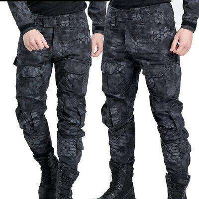 £23.88 • Buy Men Cargo Pants Military Army Combat Trousers Tactical Airsoft Work Camo Pants
