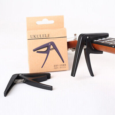 AU9.65 • Buy Ukulele Capo Quick Change Clamping Parts Accessories Tool Durable For Guitar AU