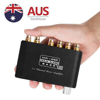 AU75.95 • Buy Mini 2.1 Channel Bluetooth Digital Amplifier Stereo Receiver Subwoofer Audio Amp