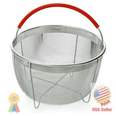 $20.70 • Buy Original Salbree Steamer Basket For 6qt Instant Pot Accessories, Stainless Steel