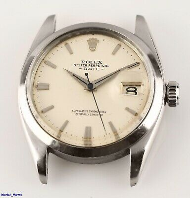 $ CDN1177.44 • Buy Vintage Rolex Oyster Perpetual Date Ref# 1500 Cal. 1560 Automatic Wristwatch