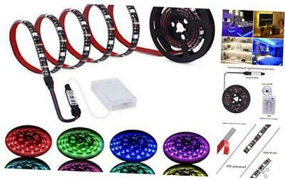 $18.70 • Buy Led Strip Lights Battery Powered RGB LED Lights Strip Battery Operated Led Batte