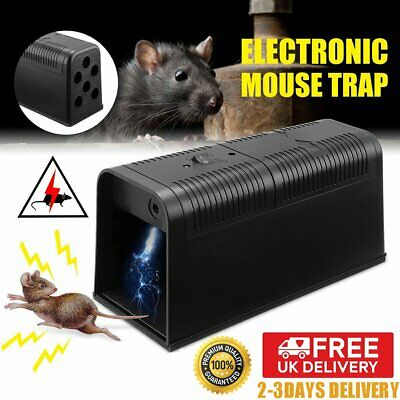 Electronic Mouse Trap Rat Mice Killer Pest Vector Control Electric Zapper Rodent • 22.89£