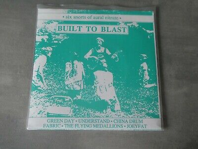 Various ‎– Built To Blast Double 7 Inch Green Day China Drum Punk New Wave Kbd   • 9.99£