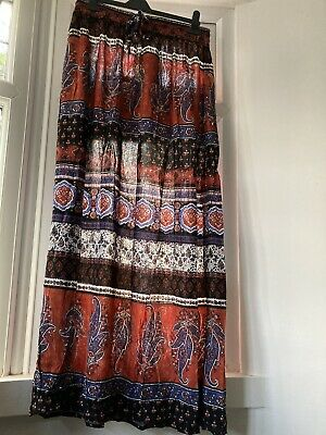 Ladies Maxi Skirt New With Tag Size 10 • 2.50£