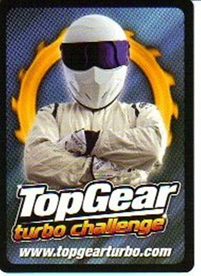 Top Gear Turbo Challenge SUPER RARE CARD 270 OF 276 The Stigs American Cousin • 6.99£