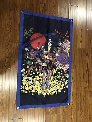 ACE FREHLEY 1978 SOLO ALBUM POSTER FLAG CLOTH 4 Ft Tall Kiss • 11.77£