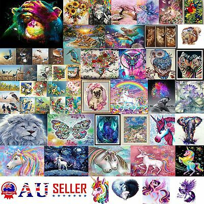 AU12.65 • Buy 5D Diamond Painting Embroidery Cross Craft Stitch Pictures Arts Kit Mural Decor