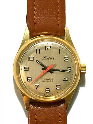 AU200 • Buy VINTAGE SWISS 60's MENS MANUAL WIND LATOR 17 JEWEL WATCH