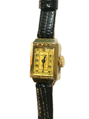 AU220 • Buy Vintage Swiss Made Art Deco 9ct Solid Gold Case Ladies Manual Wind Lavina Watch