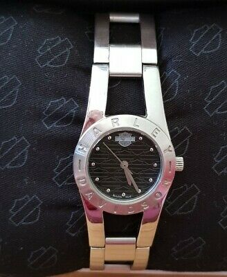 Harley Davidson Ladies Watch, Stainless Steel Strap 7 1/2   • 55£