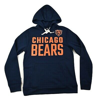$19.99 • Buy NFL Team Apparel Mens Chicago Bears Pullover Hoodie New S, M, L, XL, 2XL