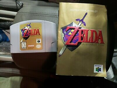 $55 • Buy The Legend Of Zelda Ocarina Of Time (Nintendo 64, N64 1998) With Manual