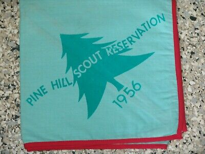Pine Hill Scout Reservation - 1956 Neckerchief  • 6.26£