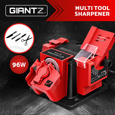 AU43.95 • Buy GIANTZ 96W Electric Multi Function Tool Sharpener Drill Knife Scissors Chisel