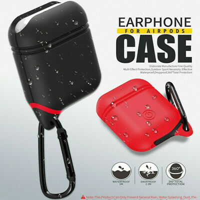 $ CDN3.34 • Buy Waterproof AirPods 2 Silicone Case Cover Protective For Apple Airpod  Yangde4