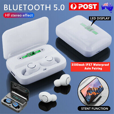 AU27.98 • Buy Wireless Bluetooth 5.0 Earphones Headphones Earbuds For IOS Android Sports IPX7