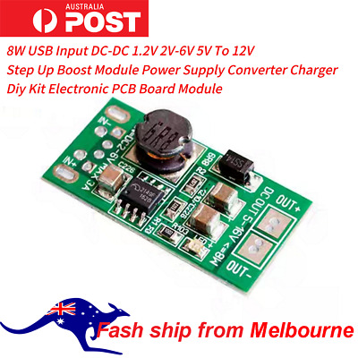 AU9.99 • Buy 8W  DC-DC 2V-6V 5V To 12V Step Up Boost Module Power Supply Converter Module AU