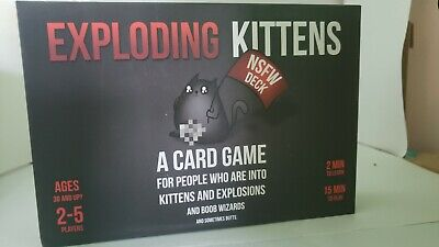 AU16.80 • Buy Exploding Kittens NSFW Edition