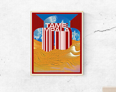 Tame Impala Poster - Music Bands - Wall Art Decor - A2 A3 A4 • 7.99£