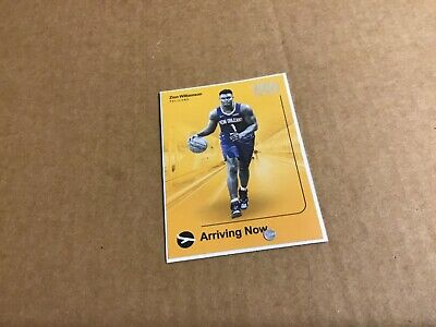 AU0.99 • Buy Zion Williamson 2019-20 NBA Hoops Arriving Now Rookie Insert Card