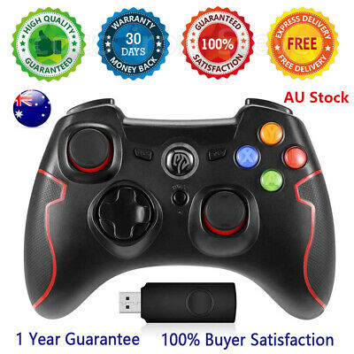 AU32.99 • Buy 🔥AU NEW Wired Controller Gamepad For Xbox 360/Slim Console Dualshock PC Windows