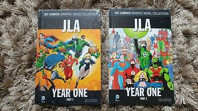 DC Comics Graphic Novel Collection JLA Year One Part 1 & 2 • 10.99£