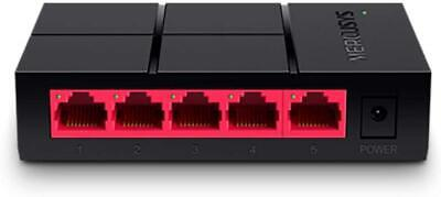 £12.99 • Buy MERCUSYS MS105G 5-Port 1000Mbps Desktop Network Switch UK By TP-Link