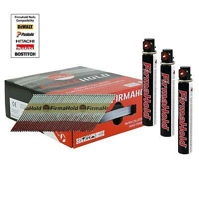 Firmahold Galvanised Framing 1st Fix Nails Inc Gas Fits Paslode IM350 • 39.99£