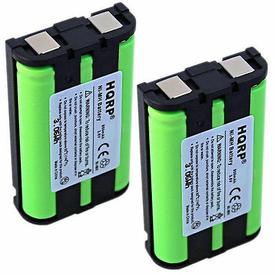 AU23.78 • Buy 2x HQRP Phone Battery For Panasonic HHR-P104 CS90499 TL26411 12423885 Type 29