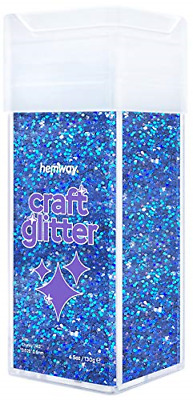 Hemway Chunky Craft Glitter Shaker For Arts Crafts Tumblers Schools Paper Glass • 13.98£