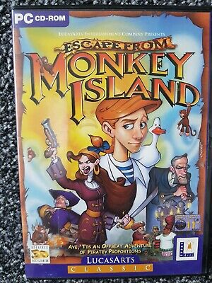 Escape From Monkey Island PC  • 5£