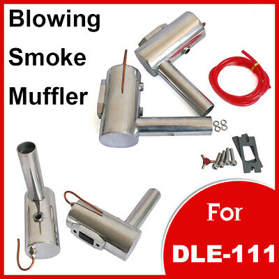 £39.99 • Buy RC Gas Airplane Flight Engine Motor Muffler Exhaust Pipe For DLE 111 100 - 111cc