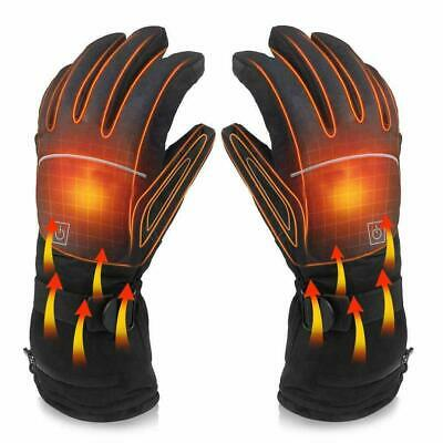 Winter Heated Gloves Electric Battery Powered Motorcycle Bike Skiing Hand Warmer • 15.89£