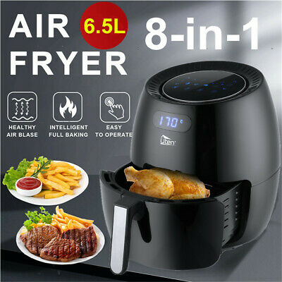 View Details 6.5L Air Fryer Healthy Frying Cooker Low Fat Oil Free Kitchen Oven Timer 1800W • 59.99£