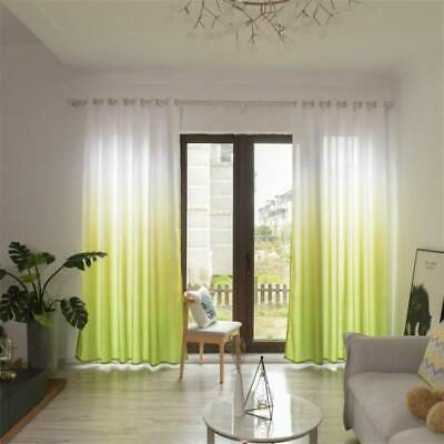 Bedroom Grain Curtains Printe Sunblind High Quality Dust-proof Opaque Stamp ON • 9.76£