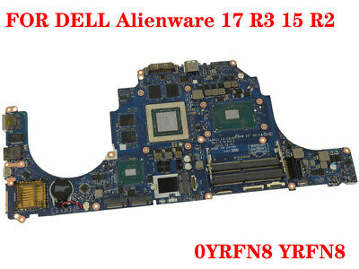 $ CDN1580.53 • Buy FOR DELL Alienware 17 R3 15 R2 Laptop Motherboard YRFN8 I7-6820HK 100% Test Work
