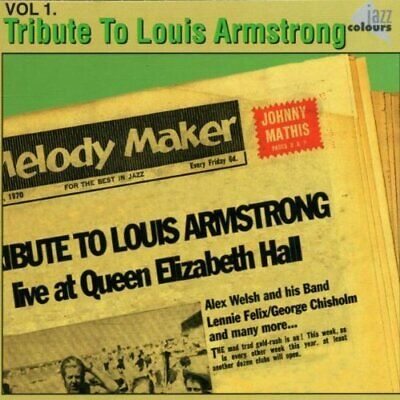 Alex Welsh - Tribute To Louis Armstrong Vol.1 - Alex Welsh CD 37VG The Cheap The • 9.26£